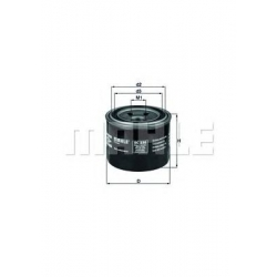 MAHLE ORIGINAL OC230 (6), Eļļas filtrs